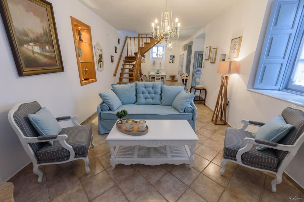 Prabangaus stiliaus apartamentai - Svetainė