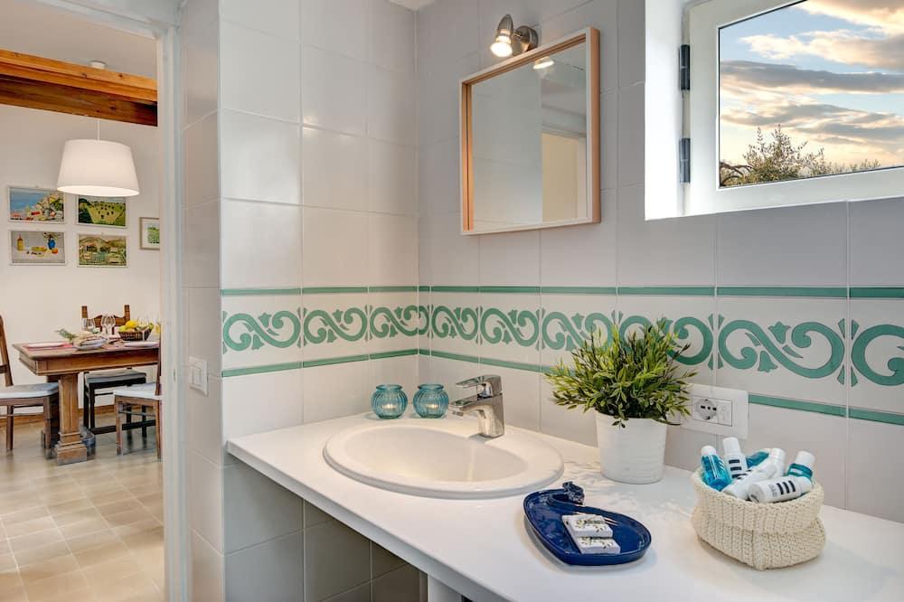 Apartmán s panoramatickým výhľadom - Kúpeľňa