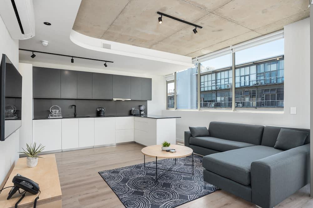 Luxury-Apartment - Wohnbereich