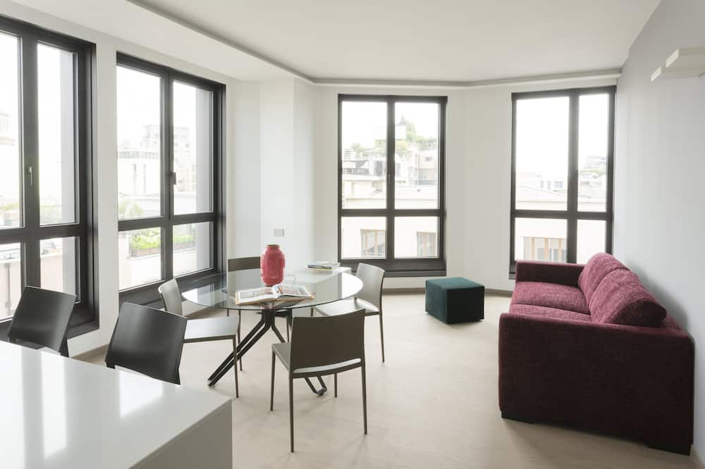 Apartment, 2 Bedrooms (2 guests) - Living Room