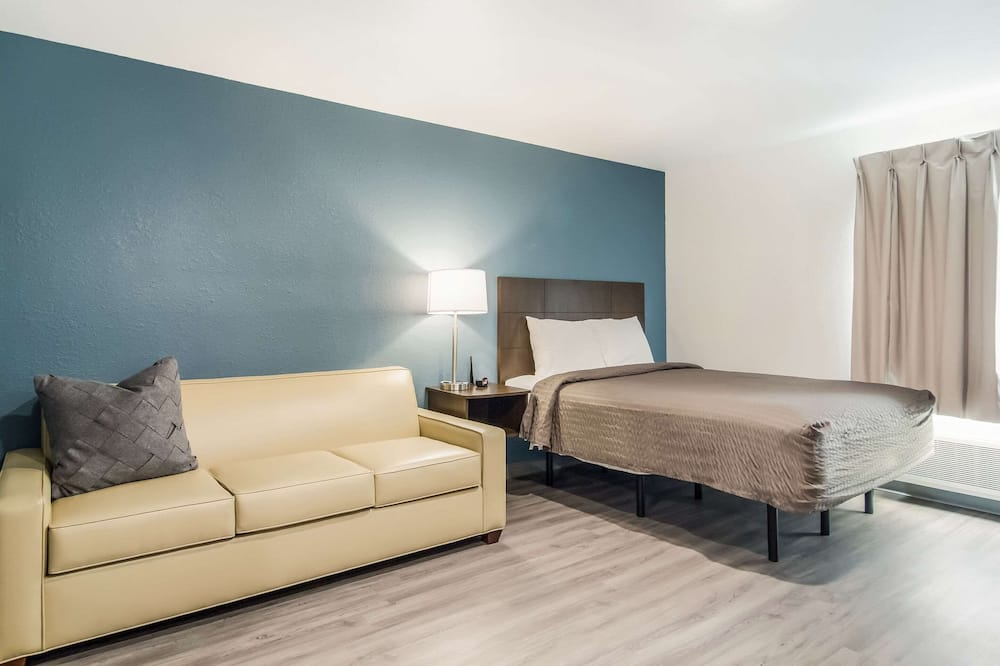 Apartmán, 1 veľké dvojlôžko, bezbariérová izba, nefajčiarska izba (Accessible Tub) - Hosťovská izba