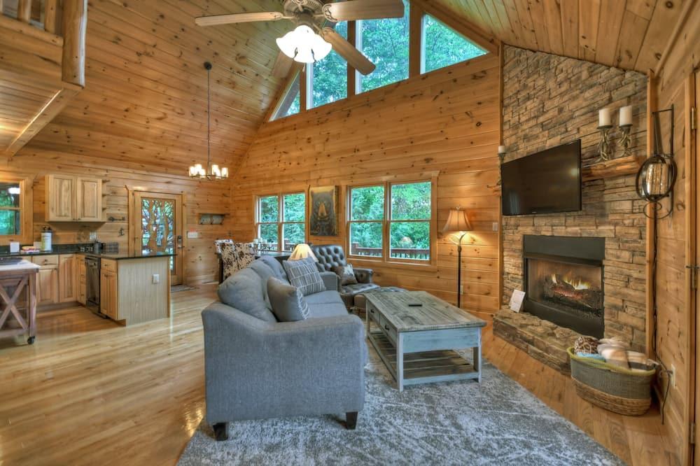 Chatka (Dancing Bear Retreat) - Obývačka