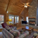 Chatka (Birdhouse on Lake Blue Ridge) - Obývačka