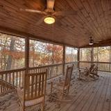 Chatka (Birdhouse on Lake Blue Ridge) - Balkón