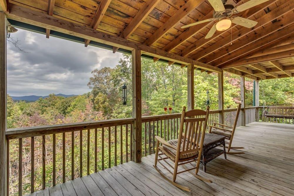Chatka (Treetops- Mtn View Cabin near Ocoee R) - Balkón