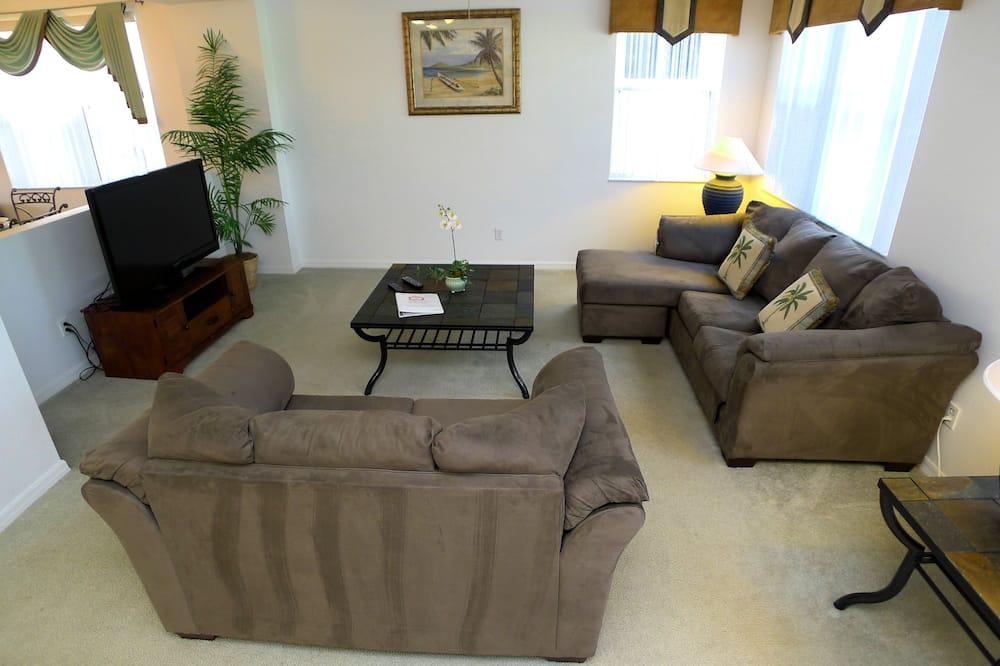 Dom (4 Bed Pool Home 253) - Obývačka