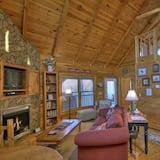 Cabin (Dancing Bears- Mtn View near Blue Rid) - Living Room