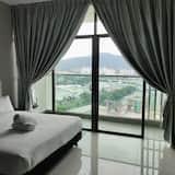 Студія з покращеним обслуговуванням, 1 ліжко «квін-сайз», з балконом - Номер