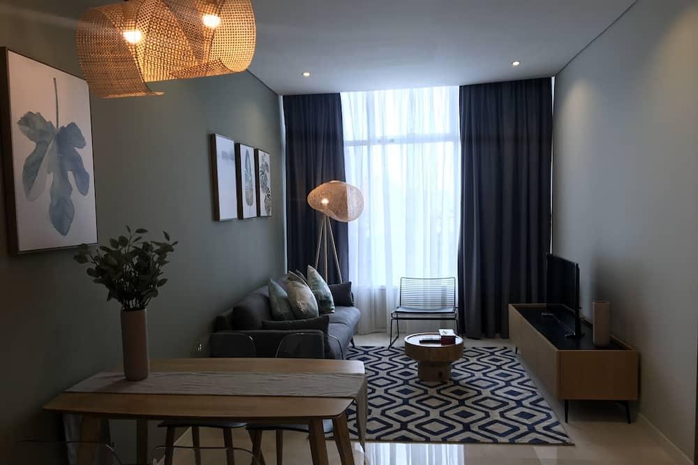 Departamento familiar, 3 habitaciones - Sala de estar