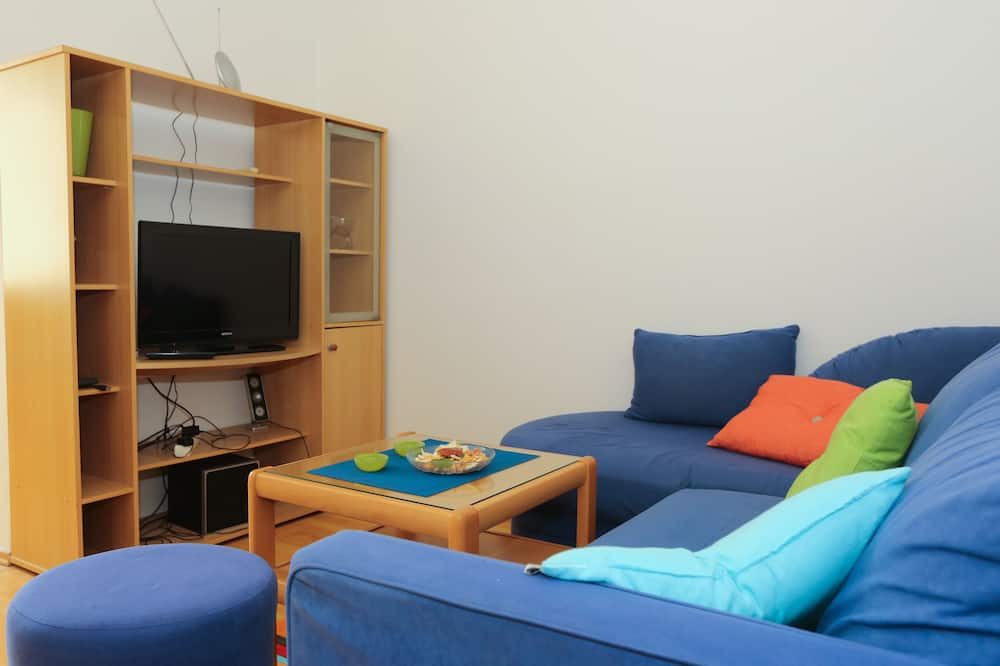 Íbúð (One Bedroom Apartment - Andrije Hebra) - Stofa