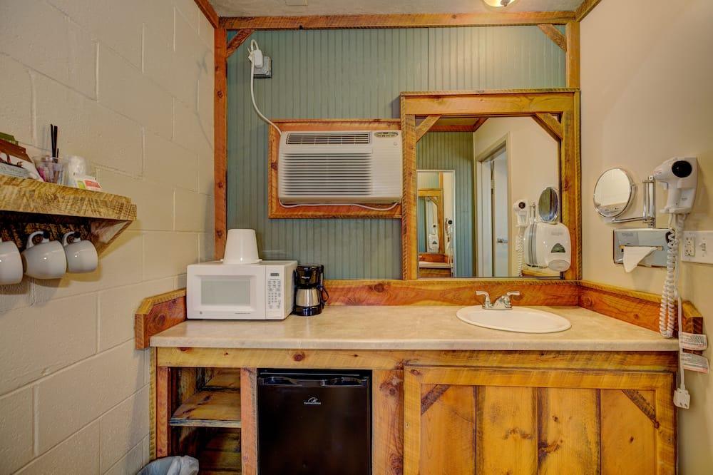 Standartinio tipo kambarys, 2 didelės dvigulės lovos, Nerūkantiesiems - Vonios kambarys