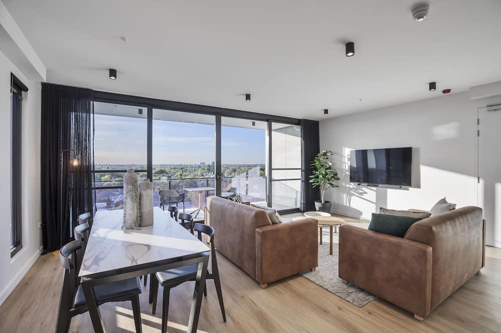Superior-Apartment, 2Schlafzimmer (Kent Town) - Wohnbereich