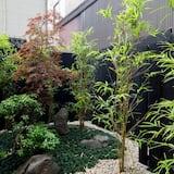 Tripla Deluxe, non fumatori - Vista giardino