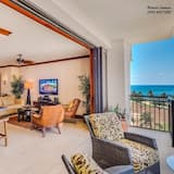 Huoneisto ( Beach Villas at Koolina | Steps to t) - Olohuone