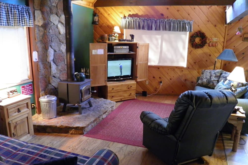 Cabin (Only 7 miles to Heavenly, Huge Deck, ) - Living Room