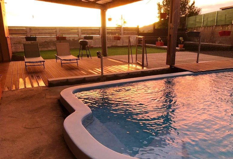 Villa With 4 Bedrooms in La Plaine des Cafres, With Wonderful Mountain View, Private Pool and Enclosed Garden, Le Tampon