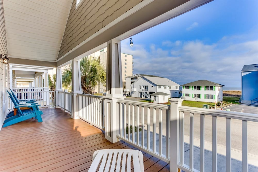 Māja (4100 South Ocean Blvd) - Balkons