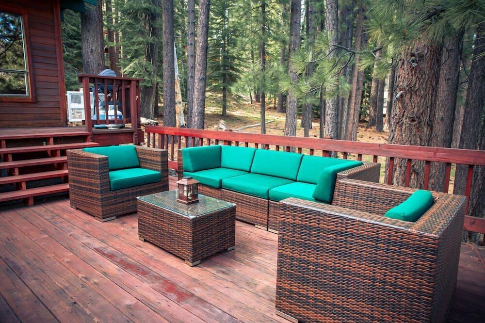 獨棟房屋 (Shady Pines | Pet-friendly | Hot Tub) - 陽台