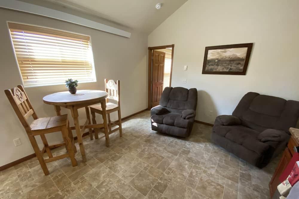 Представительский люкс, 2 спальни, кухня - Зона гостиной