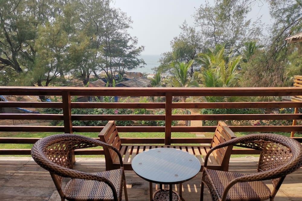 Casa de campo Deluxe, vista a la playa - Vista al balcón