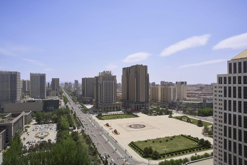 Darījumklases numurs, 1 divguļamā karaļa gulta, skats uz pilsētu, darījumklases stāvs - Skats uz pilsētu