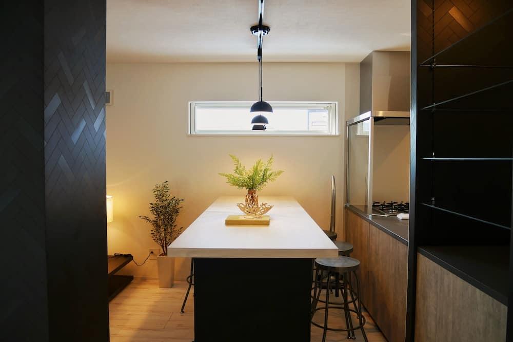 Rodinná vila, nefajčiarska izba, kuchyňa - Stravovanie v izbe