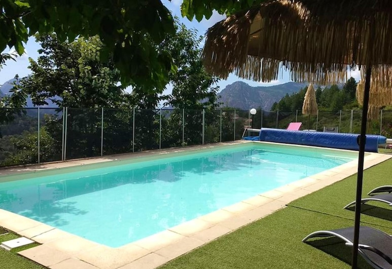 Chalet With 2 Bedrooms in Évisa, With Wonderful Mountain View, Shared Pool, Furnished Terrace, Évisa