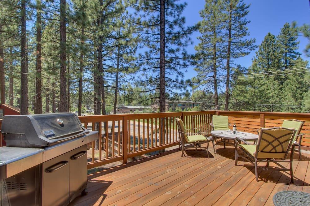 House (Lake Alice at Tahoe | Ski Run Marina ) - Balcony