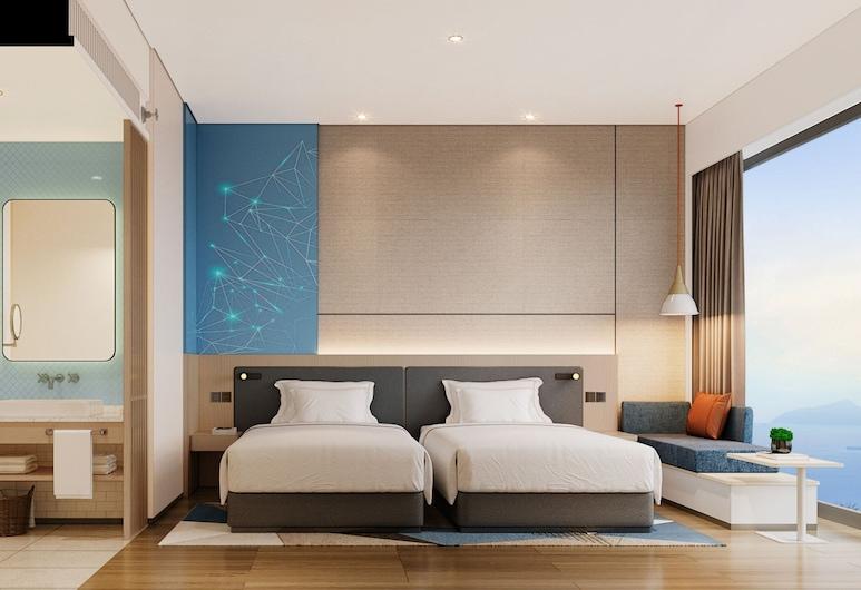 深圳龙华智选假日酒店 - IHG 旗下酒店, 深圳市, 标准房, 2 张单人床, 客房