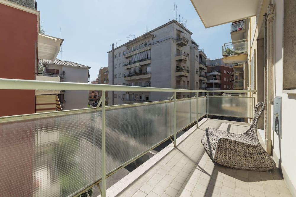 Apartemen, 1 kamar tidur - Balkon