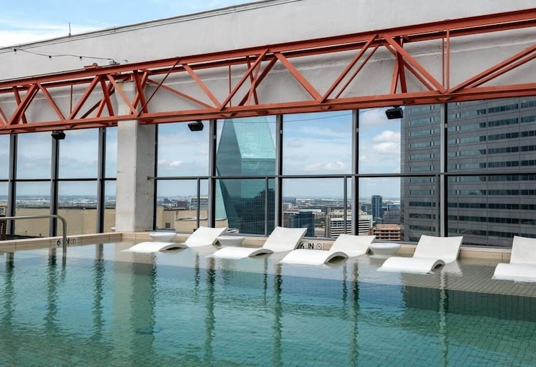 Cozysuites Luxe 1BR Apartment at Elm Street, Dallas, Inneneinrichtung