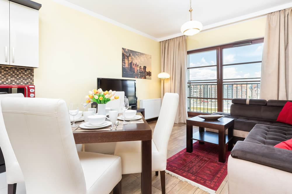 Dzīvokļnumurs, viena guļamistaba, virtuve - Dzīvojamā zona