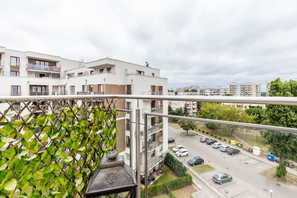 Apartament, 1 sypialnia, balkon - Balkon