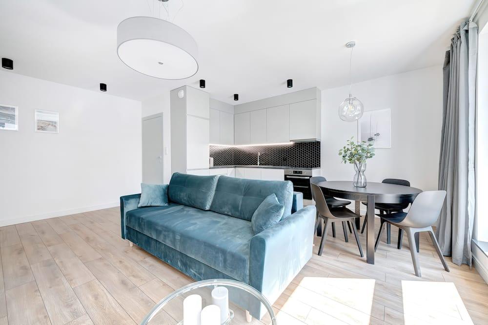 Apartment, 1 Bedroom, Kitchen - Living Room