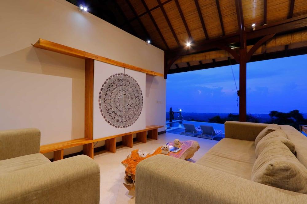 Basic Βίλα, Περισσότερα από 1 Κρεβάτια, Θέα στη Θάλασσα - Καθιστικό