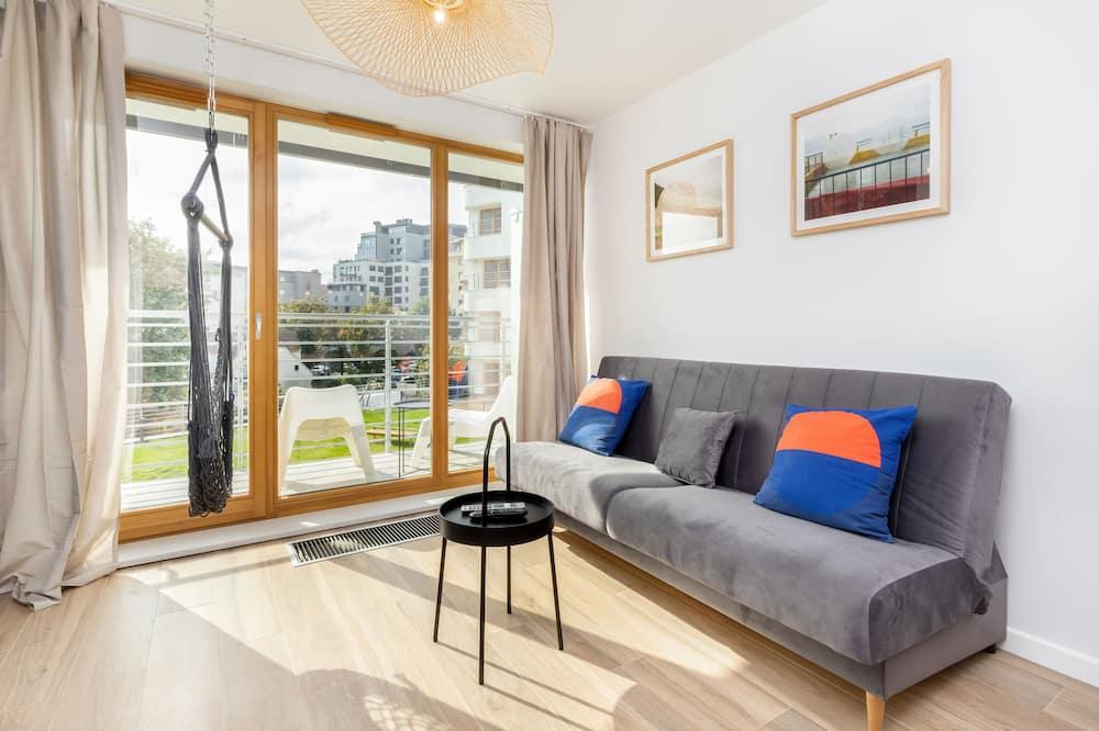 Apartament, 2 sypialnie, balkon - Salon