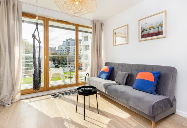 Apartment Zeromskiego Gdynia by Renters, Gdynia, Apartment, 2 Bedrooms, Balcony, Living Room
