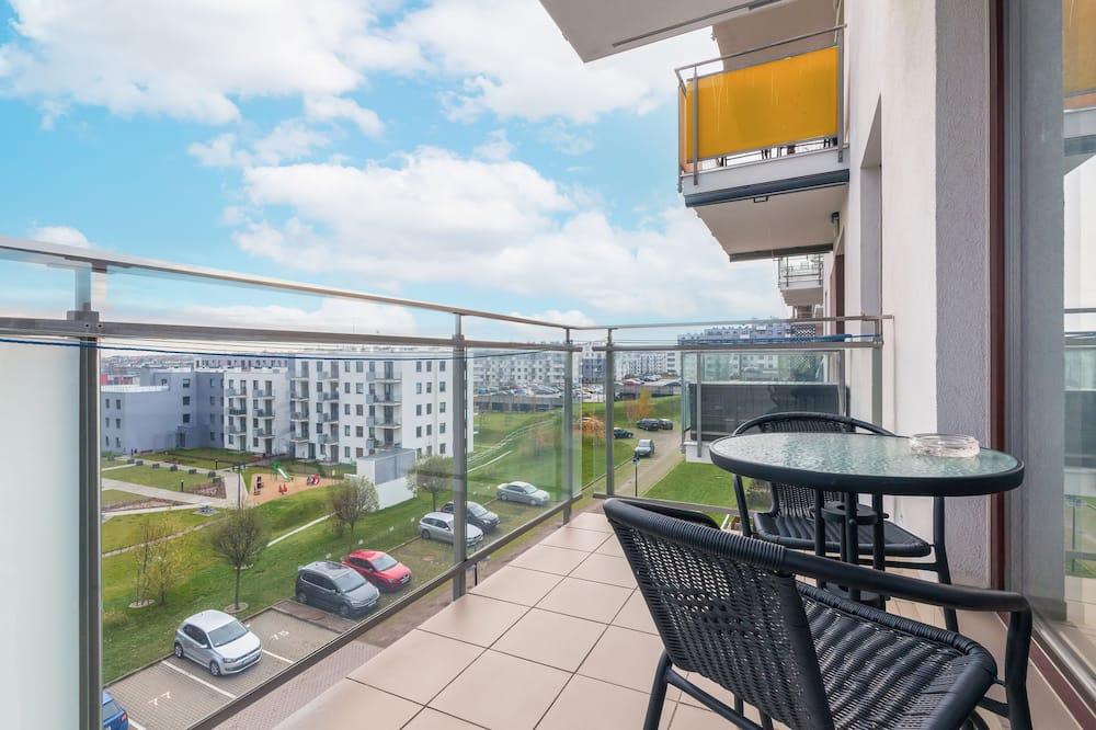 Dzīvokļnumurs, viena guļamistaba, balkons - Balkons