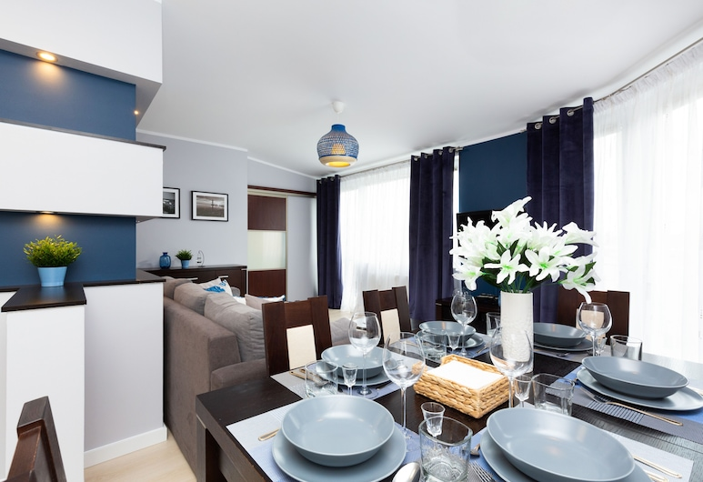 Apartment Nasypowa Gdynia by Renters, Gdynia, Apartment, 2 Bedrooms, 2 Bathrooms, Living Room