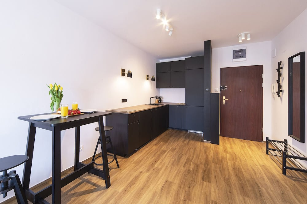 Apartment, 1 Bedroom, Smoking, Balcony - Living Room