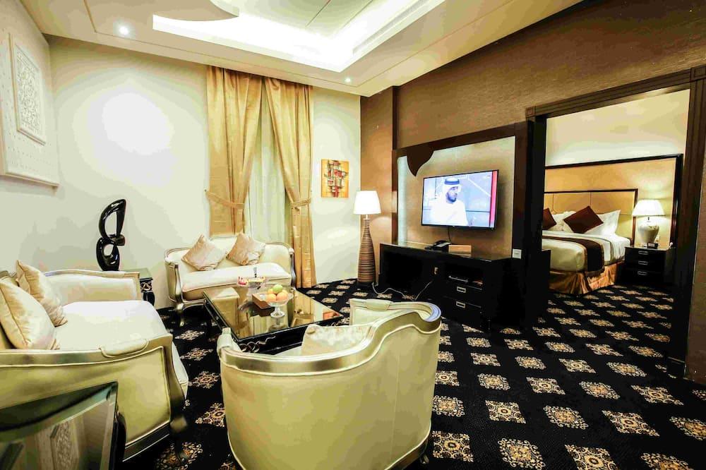Luksus-lejlighed - Opholdsområde