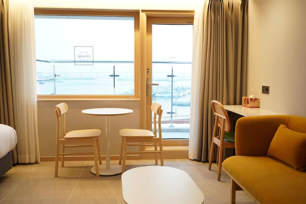 Luxusná dvojlôžková izba - Obývacie priestory
