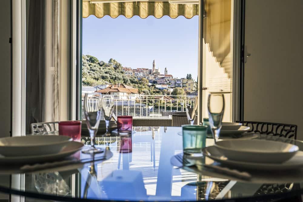 公寓, 1 張加大雙人床和 1 張沙發床, 露台, 花園景觀 (interno 7) - 客廳
