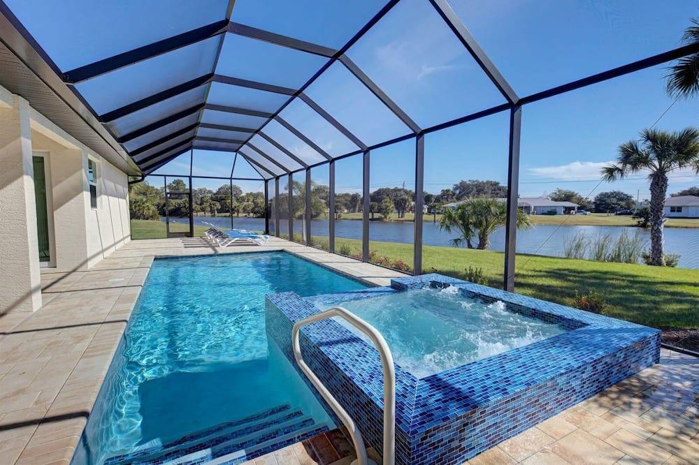 Ferienhaus (Aqua Pearl) - Pool