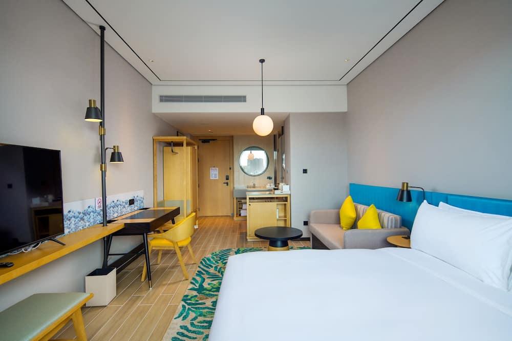 חדר, מיטת קינג - אזור מגורים
