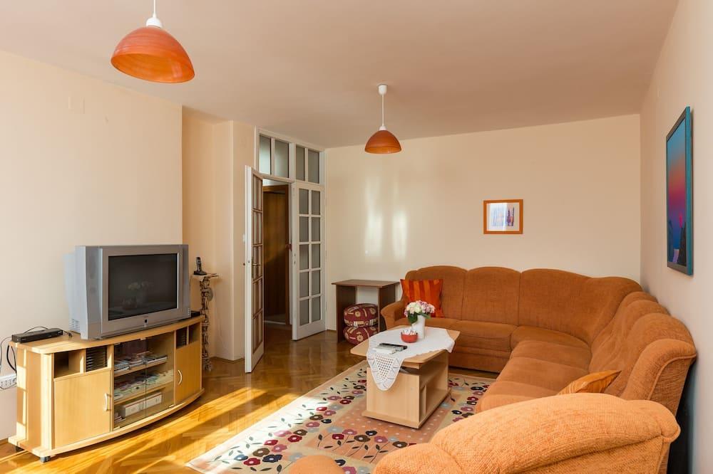 Departamento (Two Bedroom Apartment with Sea View) - Sala de estar