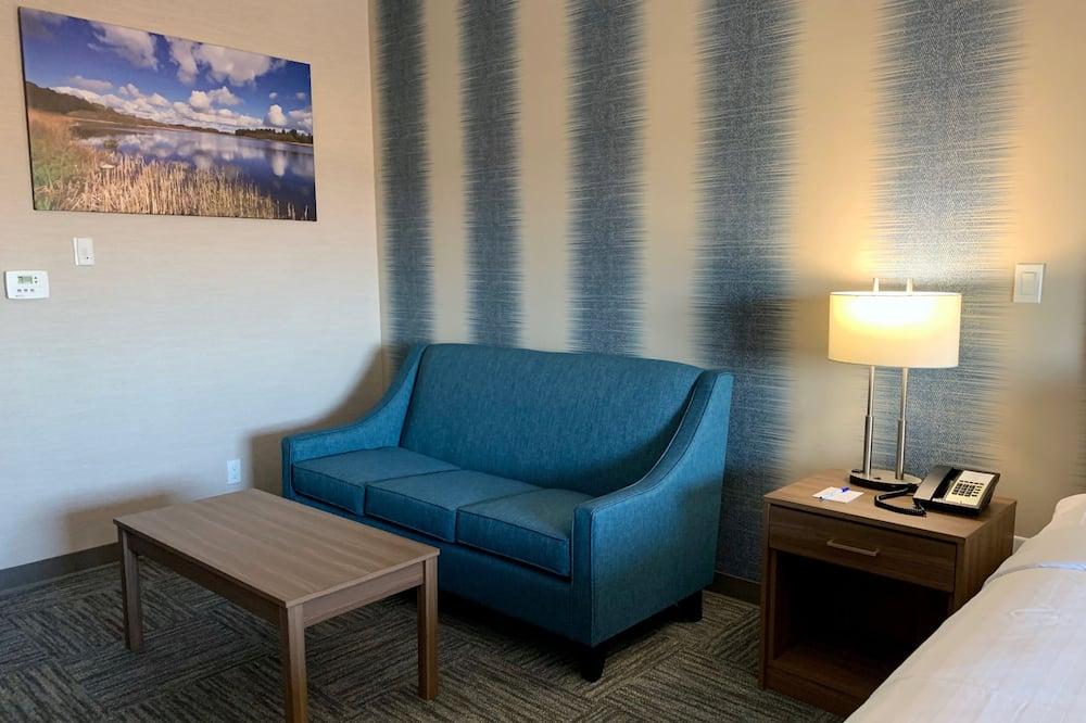 Studio Suite, 1 Queen Bed, Kitchenette - Living Area
