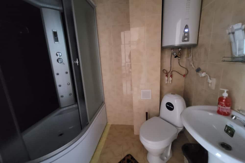 Luxus szoba kétszemélyes ággyal - Fürdőszoba