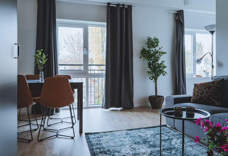 Magnolia House, Sollentuna, พรีเมียมอพาร์ทเมนท์, ชั้นล่าง, พื้นที่นั่งเล่น
