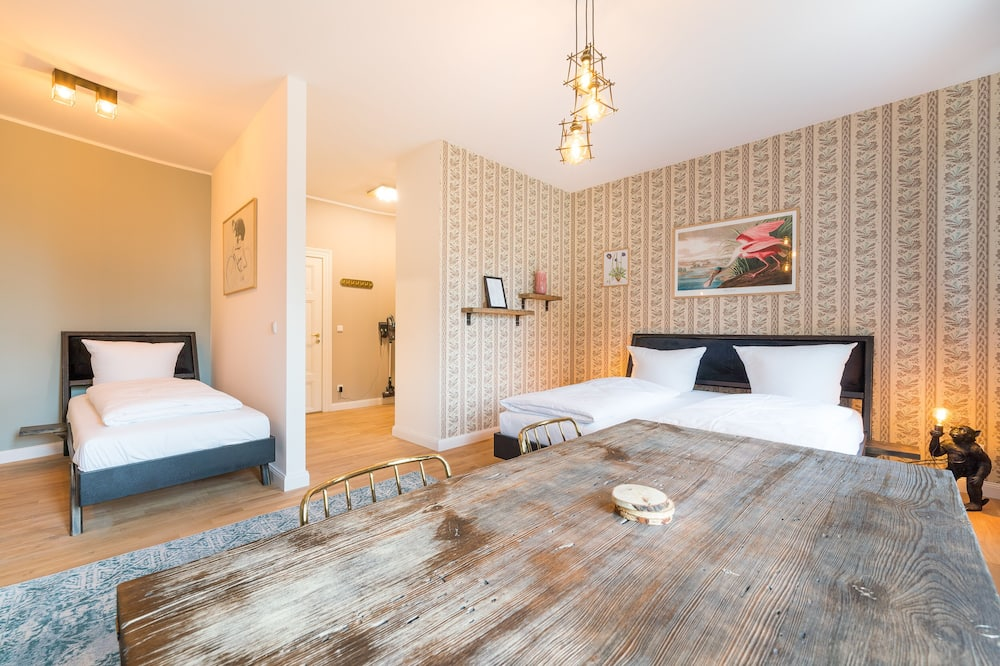 Classic-Apartment - Wohnbereich